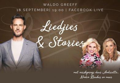 Waldo Greeff – Facebook LIVE met Liedjies & Stories