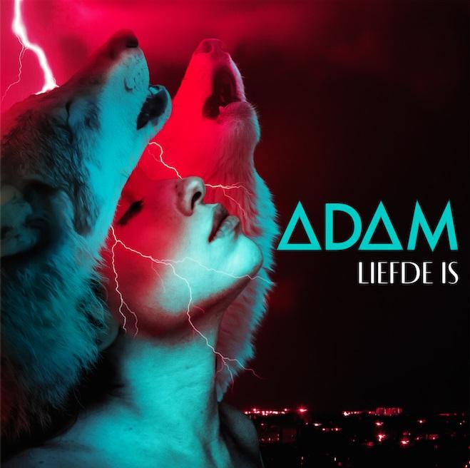 Adam Liefde Is Omslagontwerp