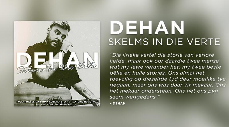 Dehan Skelms in die verte feature plectrum