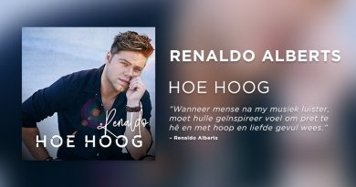 Renaldo Alberts Hoe Hoog Feature Plectrum