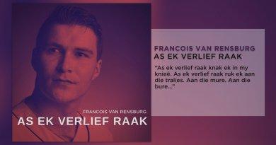 Francois van Rensburg As ek verlief raak Feature Plectrum