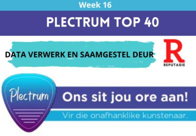 Plectrum Top 40 – Week 16