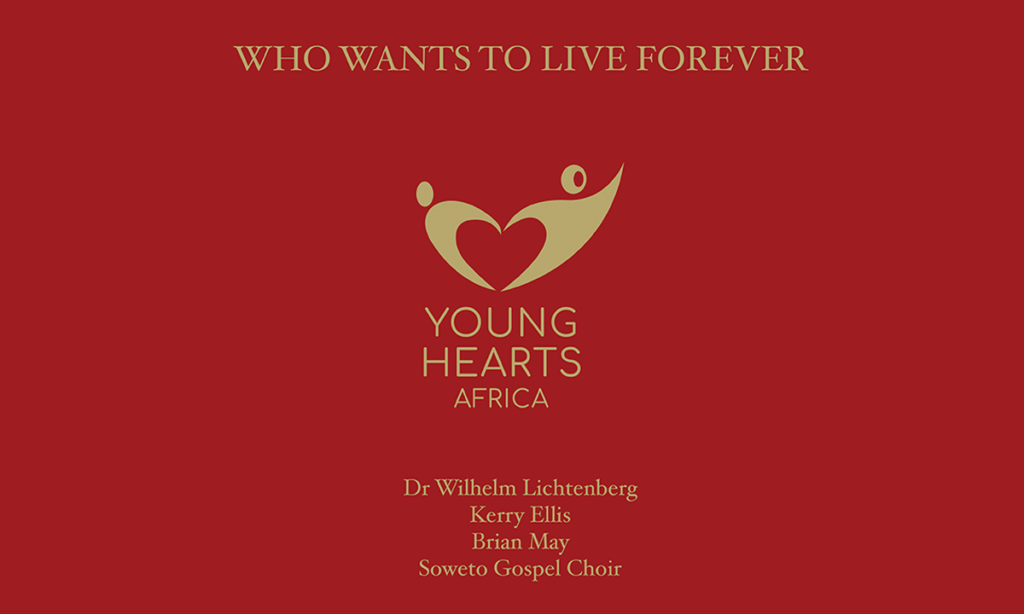who wants to live forever - young hearts africa feature plectrum